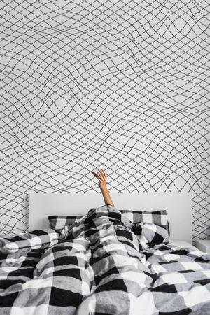 papier peint n°16 graphique lignes fines