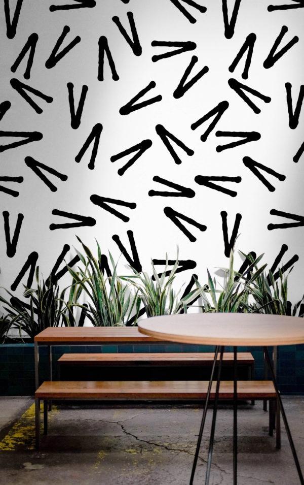 papier peint n°17 design mouvement dynamique