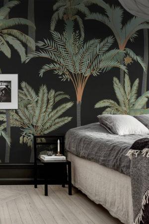 papier peint n°21 palmier voyage
