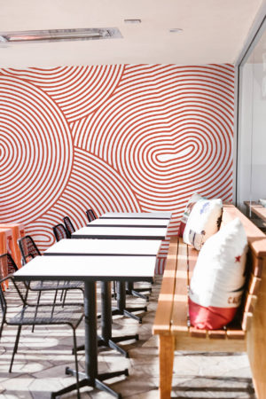papier peint n°36 hypnotisant spirale moderne
