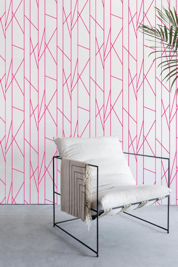 papier peint n°39 lignes géométriques