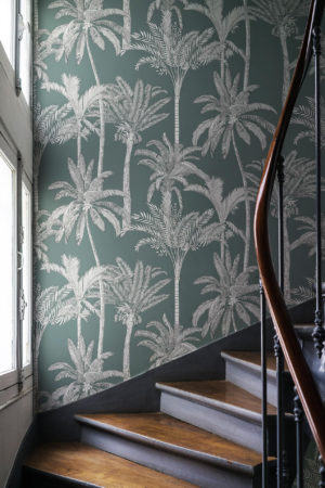 papier peint n°42 palmers élégants épurées