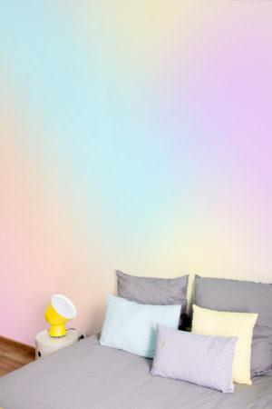 papier peint n°64 tie and dye pastel