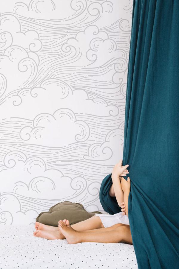 papier peint n°70 nuages en mouvement