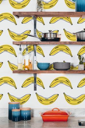 papier peint n°85 banane