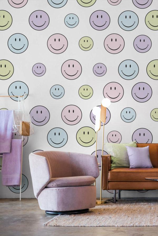 papier peint n°95 smile