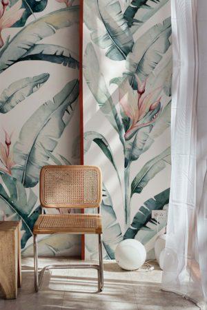papier peint n°97 plantes élégantes et précieuses