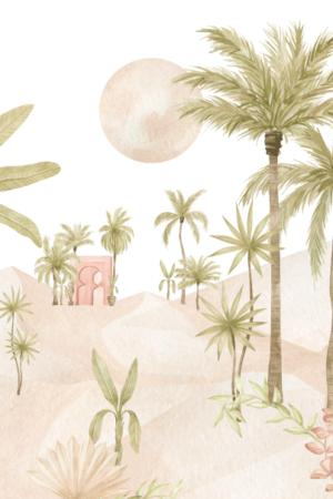 papier peint n°109 oriental Sahara