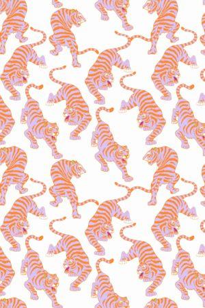 papier peint n°113 tigre pop