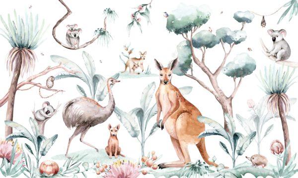 papier peint n°120 animaux d'Australie