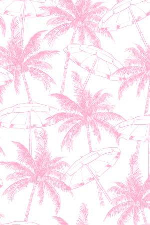 papier peint n°123 motif cocotier